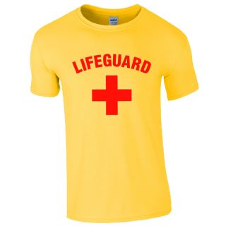 Best Seller Lifeguard + Yellow T-Shirt | Lifeguard Gear